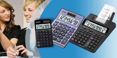 Calculadoras - Contadoras