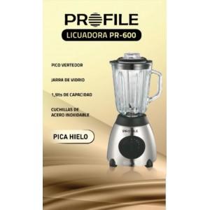 LICUADORA ELECT VASO VIDRIO PROFILE 600 1.5 L 600