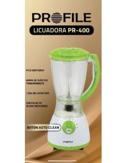 LICUAD.ELECTRICA VASO PLASTICOPROFILE 400 400W