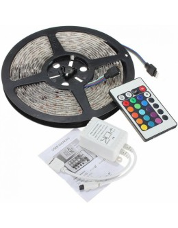 TIRA LED 5M 5050 C/CONTROL RGB