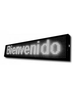 CARTEL ELECTR. BLANCO WIFI 1MX20CM