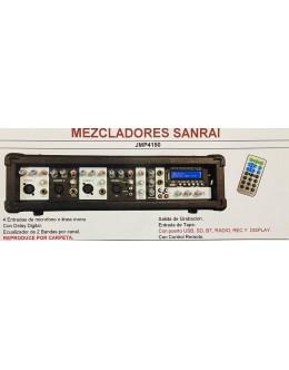 CONSOLA MIXER 4 CAN 4150 USB-BT