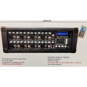 CONSOLA MIXER 8 CAN 8150 USB-BT
